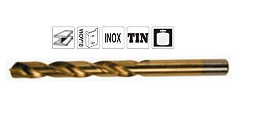DWT-Germany 101412.01 Ø 7,0mm HSS Spiralbohrer Metallbohrer Bohrer Hartmetallspitze Titan Doppel Geschliffen