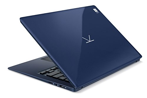 iBall CompBook Exemplaire+ 14-inch Laptop (Atom x5-Z8350/4GB/32GB/Windows 10 Home/Integrated Graphics), Cobalt Blue