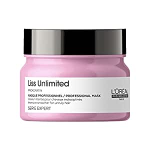 L'Oréal Professionnel Serie Expert Liss Unlimited Masque 250 gm, For Frizz-free Hair