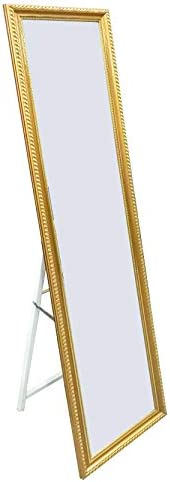 Framed Free-standing Mirror Gold