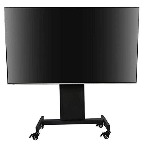KBKG821 TV-Wagen, Boden-TV-Ständer, 90 ° Höhenverstellung, 360 ° drehbar, fahrbar, Schlafzimmer, Wohnzimmer