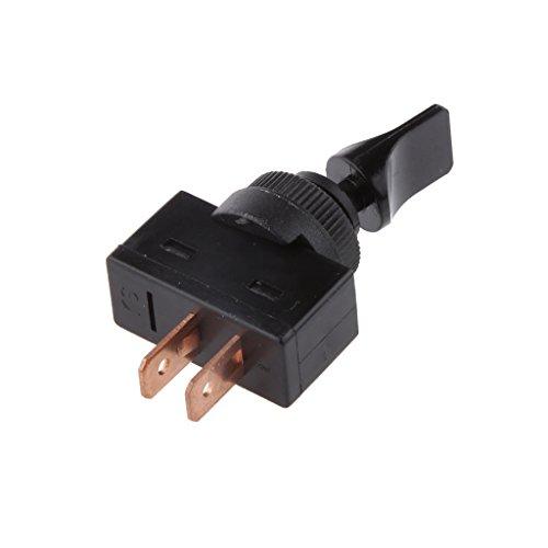 Preisvergleich Produktbild Baoblaze Montage Steckverbinder 2pin Ein/Aus Mount Kippschalter-Schalter-Anschlüsse 12VDC 20A