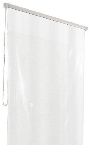 Duschrollo für Kleine Wolke-Leerkassette, 128 x 240 cm, weiß thumbnail