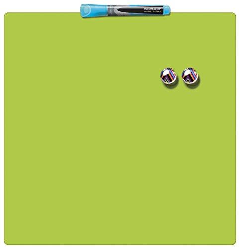 Nobo magnethafende Tafelquadrate (36x36 cm) grün