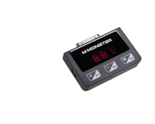 Monster 123980 iCarPlay Wireless 300 FM-Transmitter für iPhone, iPod & iPad Ipod Fm-transmitter