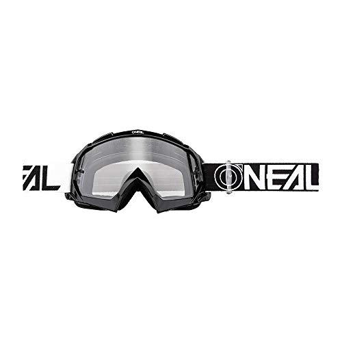 O'neal B10 Twoface Goggle Goggle MX DH Brille schwarz/klar Oneal