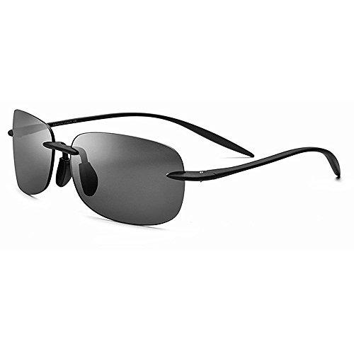 Ppy778 Polarisierte Sonnenbrillen für Männer und Frauen , UV-blockierende, blendfreie Linsen (Color : Brown)