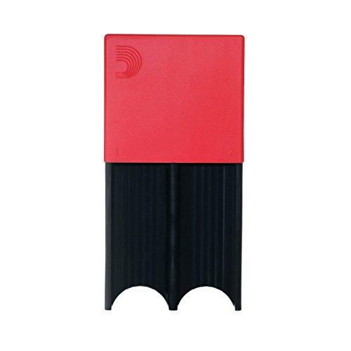 D\'ADDARIO Reed Guard für 4 Tenor-/Baritonsaxophon, Bassklarinettenblätter, Blister mit 1 Stück, rot
