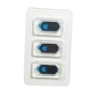 Jessicadaphne 3 TEILE/SATZ Ovale Form WebCam Abdeckung Shutter Magnet Slider Kunststoff Kamera Abdeckung Für Web Laptop für PC Tablet Privatsphäre