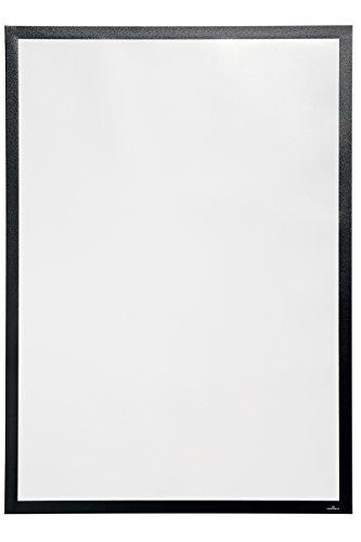 Durable 500401 Info-Rahmen Duraframe Poster Sun (A2, Plakatrahmen für Schaufenster) 1 Stück schwarz