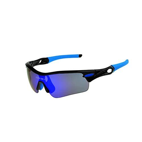 Sport-Sonnenbrille Outdoor Radfahren Windbrille Five Cycling Polarizer Goggle Sport Sonnenbrille Radfahren Outdoor Sport Brille Sonnenbrille für Männer Frauen beim Radfahren, Angeln, Laufen, Drivin