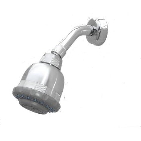Filtro de la ducha, cromo, montaje en pared, w/cartucho reemplazable