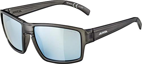 ALPINA Erwachsene Melow Sonnenbrille, Grey transparent matt, One Size