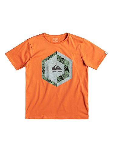 Quiksilver Heat Stroke - T-Shirt for Boys 8-16 - T-Shirt - Jungen 8-16 - Orange