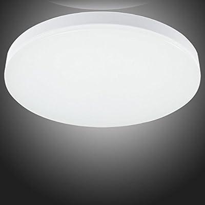 S&G LED Ceiling Lights, Flush Mount Ceiling Light for Bedroom Living Room Office, 12W 4000K(Natural White)
