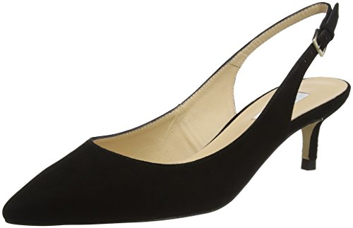 LK BENNETT AVA, Scarpe con Cinturino Alla Caviglia Donna Nero (Black-black)