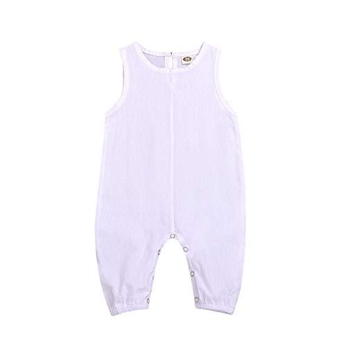 Zylione Kinder Overall Baby ärmellose Süßigkeiten Farbe lässig Overall Overall Roben Kindertag Geschenk