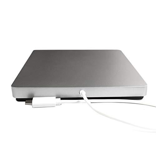 REFURBISHHOUSE USB-C Superdrive Dvd unità CD Rewriter Esterno Type-C Masterizzatore Dvd/CD Portatile Supporto Dvd Drive Windows8 / 7 / Vista/Mac OSX