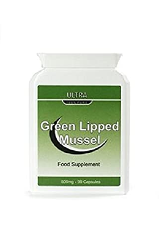 Ultra Green Lipped Mussel 500mg 90 Quick Release Capsules- Joint Pain and Arthritis Relief- Read the Reviews Below
