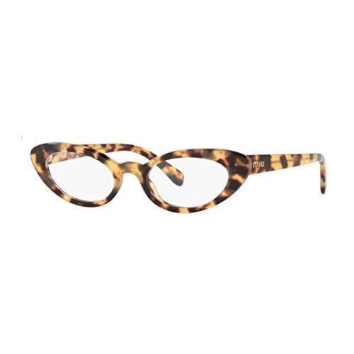Miu Miu Vista Damen 01SV 7S01O1 Rahmen Havana Gatta Cat Eye 50