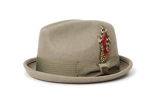 Brixton GAIN Fedora Headwear, Salbei, L