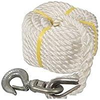 Silverline Tools 865628Gin Rad Seil mit Haken, weiß
