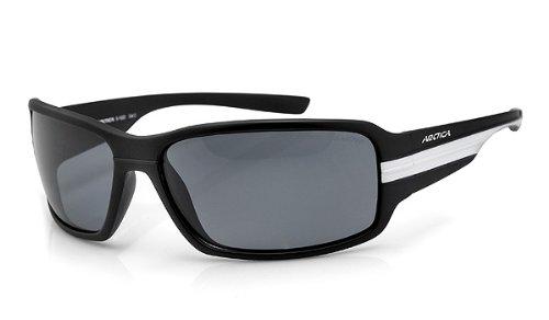 Arctica® * Colorado-Sonnenbrille/Sportbrille/Radbrille, polarisiert,% Alles MUSS Raus%, Nero/Bianco