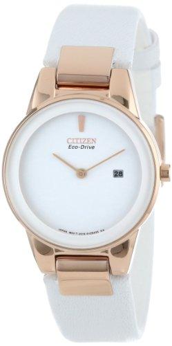 CITIZEN Analogue White Dial Women's Watch (Ga1053-01A) image