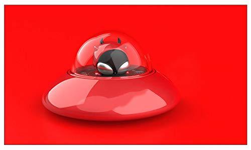 XUNTAO Aromaterapia Purificazione dell'Aria Aroma Duraturo Rimozione degli Odori Le Donne in Gravidanza Possono Anche Usare Materiale in Lega di Zinco Forma Unica del Disco Volante,R