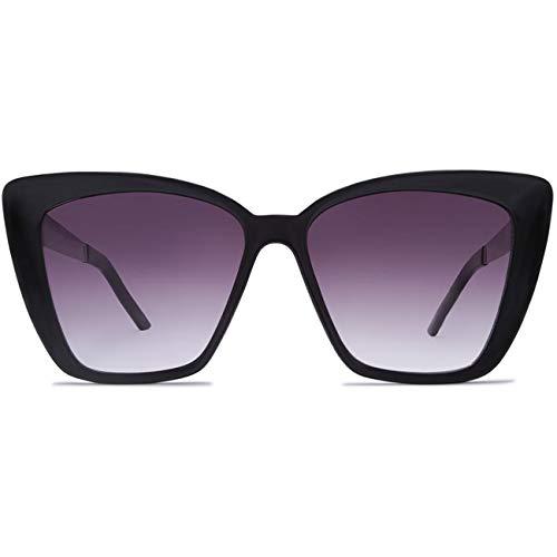 Crush Eyes Damen Sonnenbrille Aspen, Größe:OneSize, Farben:Gloss Black-Gradient