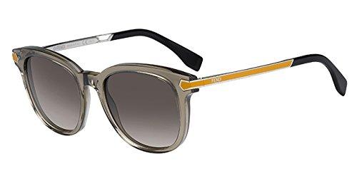 Fendi occhiali da sole 0021/s ha7uq51 (51 mm) grigio