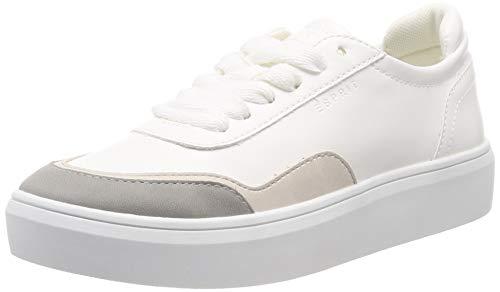 ESPRIT Damen Elda Toe LU Sneaker, Grau (Light Grey 040), 41 EU