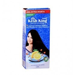 Kesh King anti pellicules et anti Hairfall Shampooing Flacon de 60 ml