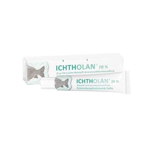 Ichtholan 20% Salbe 15 g - Antibakterielle Salbe