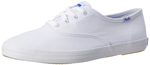 Keds - Champion Core Text-Navy, Sneakers da donna Bianco