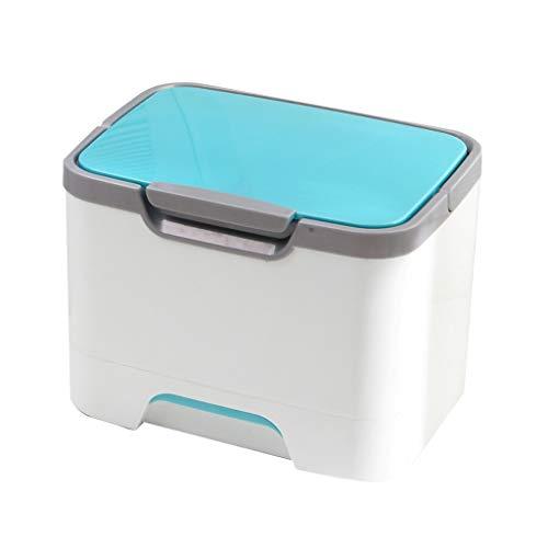 Hausapotheke-kit (Jinxin-schmuckschatulle Kinder Kleine Medizin Box Mehrschichtige Schublade Tragbare Familie Medizinische Erste-Hilfe-kit (Farbe : Blau))