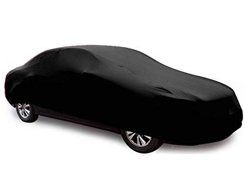 YDS SHOP Indoor Gewidmet Autoabdeckung,Passgenau Elastizität Autokleidung Geeignet für for V̈ÓLK̃ŠWÁGÉN,Garage,Autosalon,Autohändler Verwenden Sie Schwarz Car (Size : Lupo)