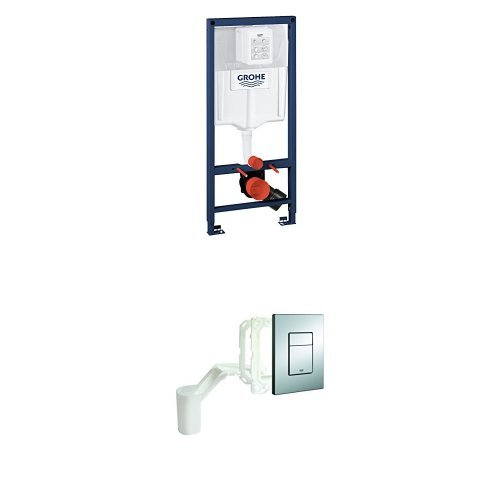 Grohe Rapid SL Installationssystem für Wand-WC + Skate Cosmopolitan Set (Fresh und Betätigung)