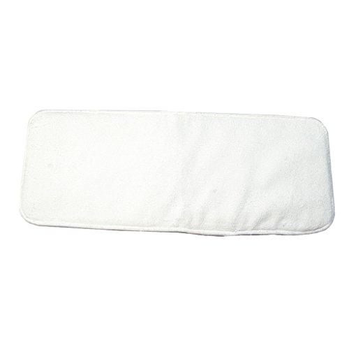 Homyl Stoffwindeln - Mikrofaser Windel Einlagen mit 4 Schickten saugfähig und waschbar - Weiß