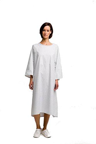Patientenhemd OTTO Krankenhemd Pflegehemd Nachthemd Einheitsgröße