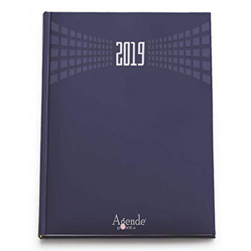 Agenda giornaliera 2019 Matrà A4 (21x30) BLU - agenda maxi sabato e domenica separati