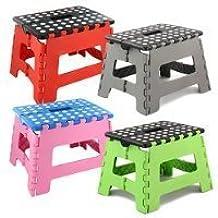 Small Folding Step Stool - 150kg Capacity by zizzi