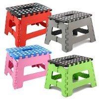 Zizzi Small Folding Step Stool - 150 Kg Capacity
