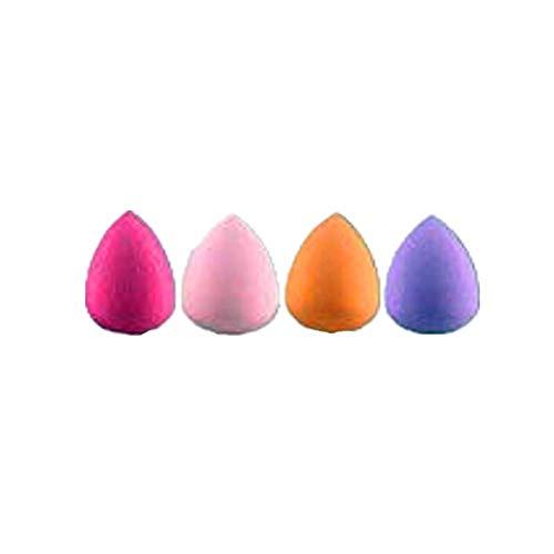 Cosanter Mini Goutte d'eau Maquillage Fondation Sponge Puffs Poudre Liquide Crème Mixeur Lisse Maquillage des éponges Cosmétiques Outil de Beauté Puff Couleur Aléatoire 4pcs