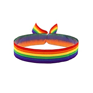 3x Regenbogen Armband Festival Bändchen CSD Pride Lgbt