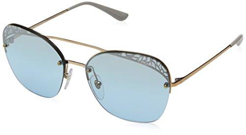Ray-Ban Damen 0VO4104S Sonnenbrille, Light Rose Gold, 57