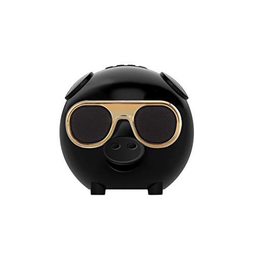 Huacat Bluetooth Lautsprecher Drahtloser Schwein Form mit Karaoke Mikrofon zum Singen car subwoofer Auto stereoanlage