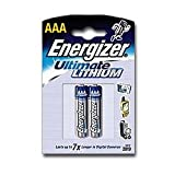 Energizer Ultimate Lithium FR03 Batterie AAA L92 Micro 1250mAh