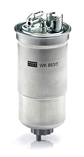 Original MANN-FILTER Kraftstofffilter WK 853/3 X - Kraftstofffilter Satz mit Dichtung / Dichtungssatz - Für PKW
