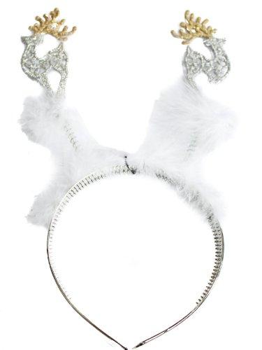 Glamour Girlz Festive Productions-Albero di Natale a forma di renna
